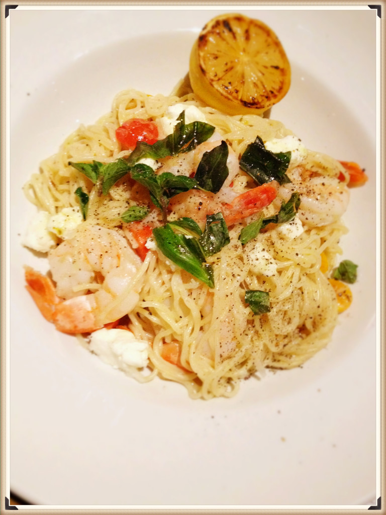 Lemon Prawn Capellini $23