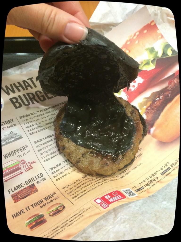 BK's Black Burger