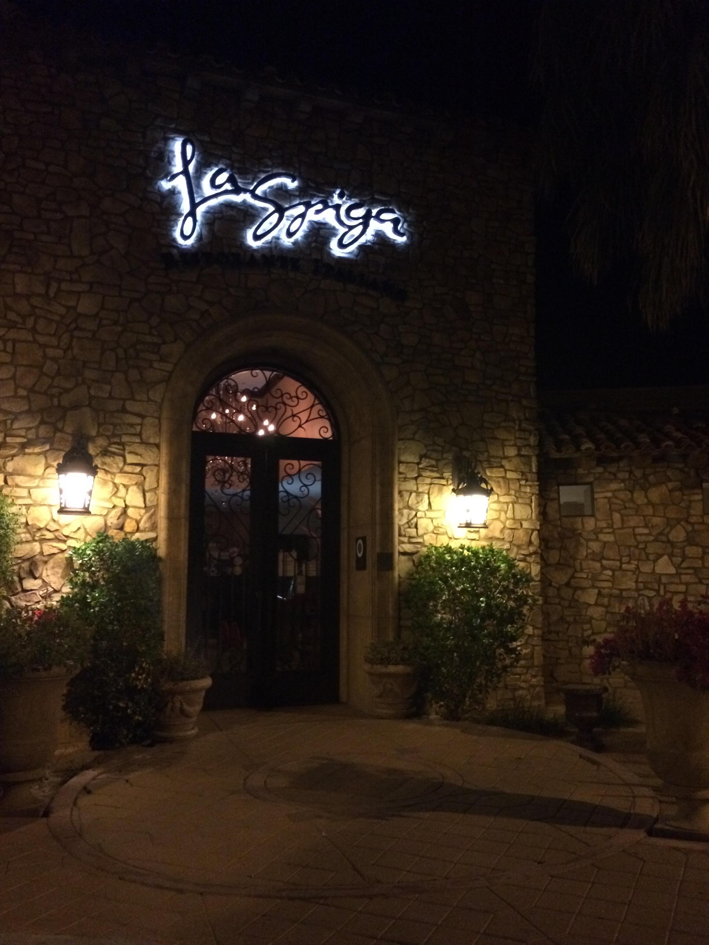 La Spiga Restaurant Palm Desert Menu
