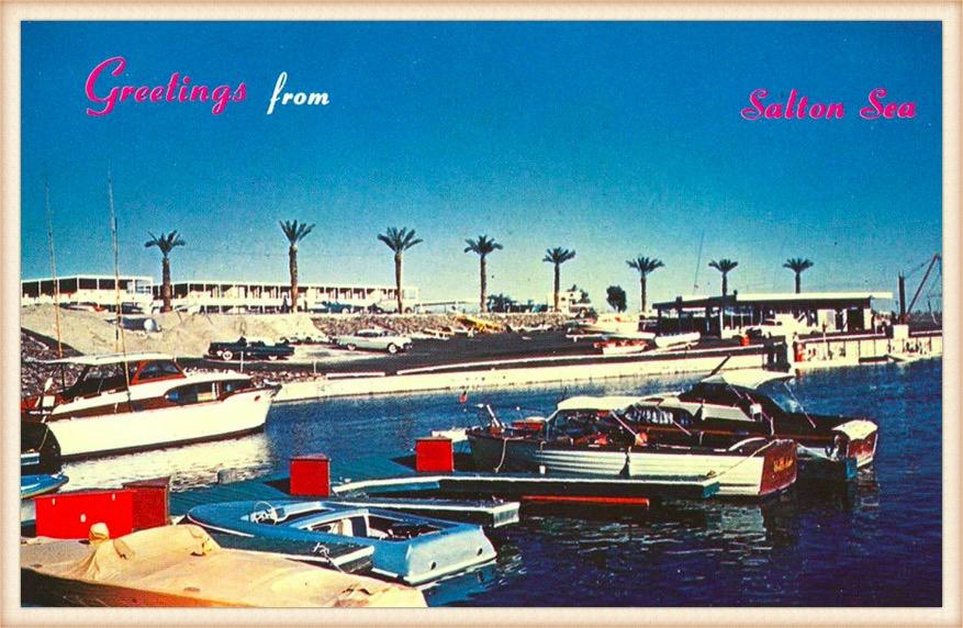 Salton Sea postcard