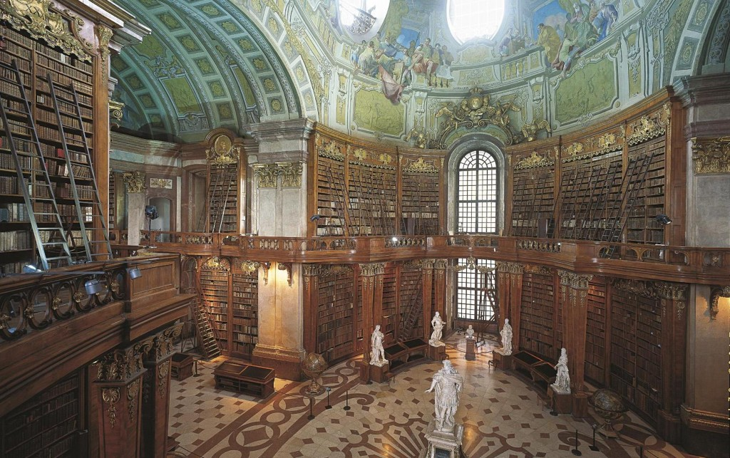 Inside the National Library