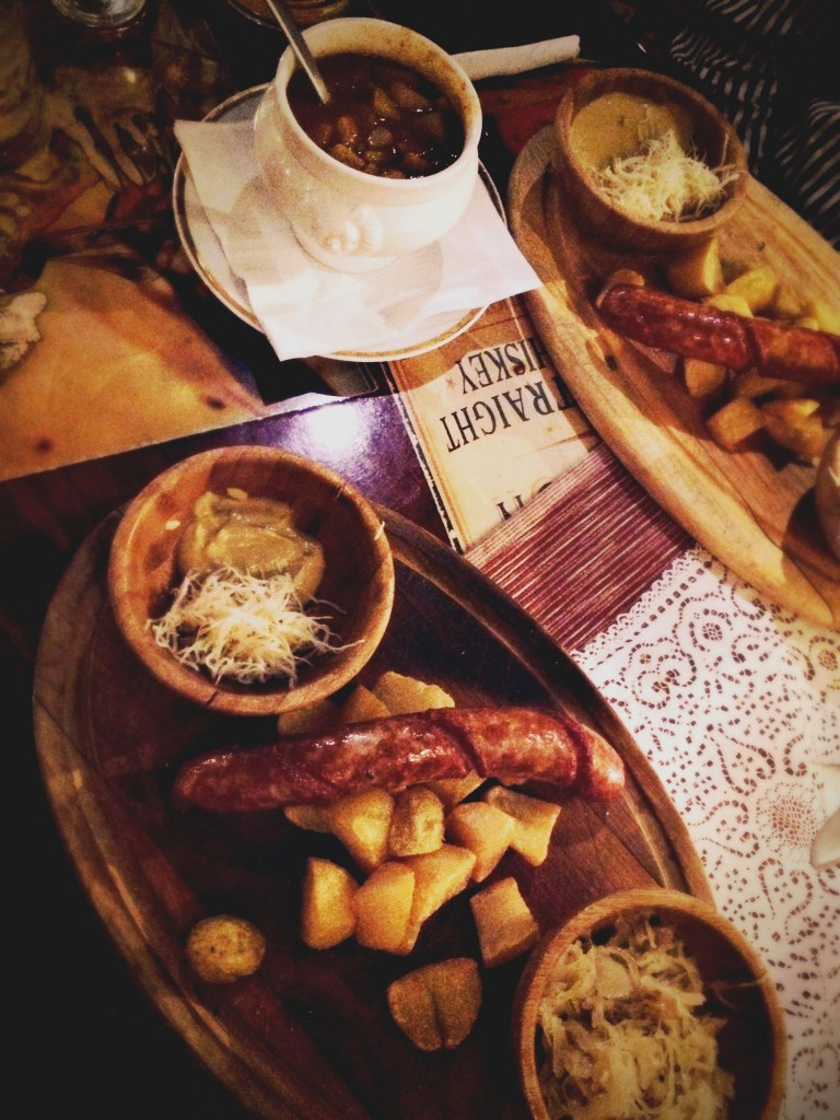 Sausage, beer and sauerkraut: a midnight fix at Stadtbrauerei Schwarzenberg