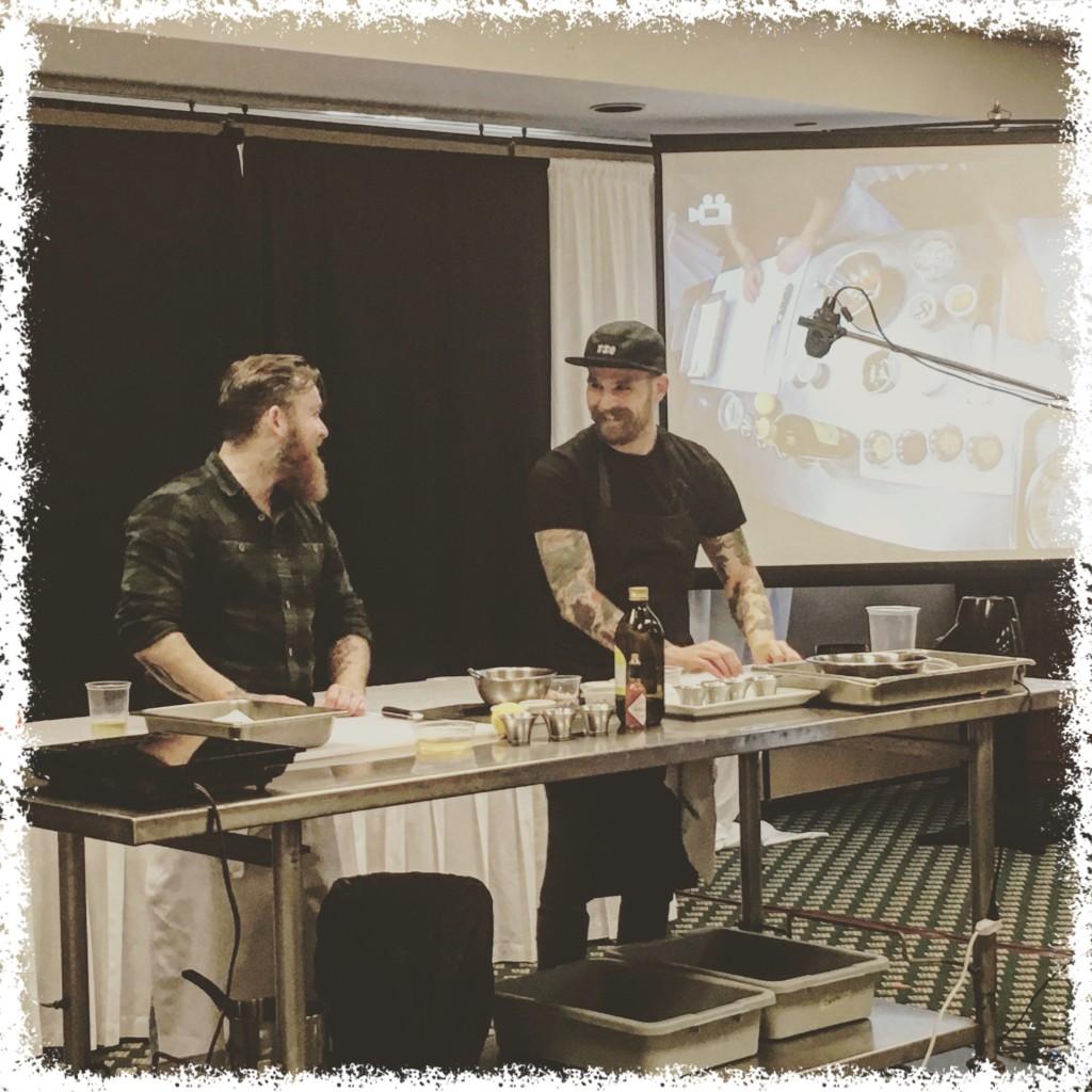 Chefs Dale Mackay and Nathan Guggenheimer fo Ayden Kitchen & Bar (Saskatoon)