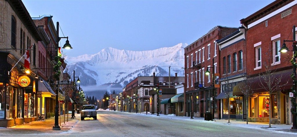 Fernie's Historic Downtown
